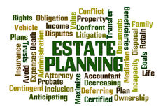 Estate Planning Royalty Free Stock Image