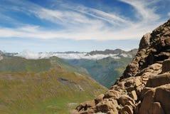 Estate Pyrenees. Fotografia Stock