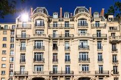 Estate reflection Paris Stock Images
