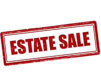 Estate sale Stock Image