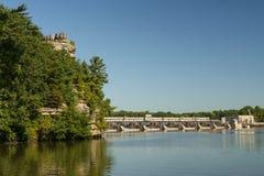 Estate sul fiume di Illinois Fotografia Stock Libera da Diritti