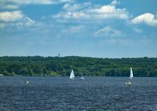 Estate sul lago Fotografia Stock Libera da Diritti