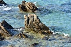 Estate sull'isola della Sardegna Immagini Stock