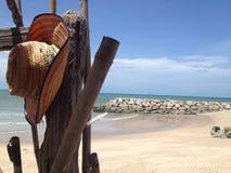 Estate sulla spiaggia fotografie stock