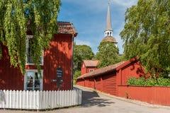Estate in Svezia fotografia stock