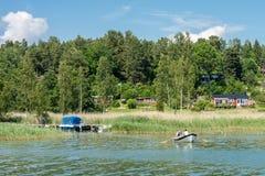Estate in Svezia Immagini Stock