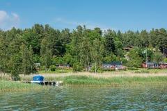 Estate in Svezia Fotografie Stock Libere da Diritti