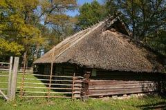 Estate in un villaggio Fotografie Stock