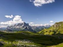 Estate in Valzoldana, Italia immagini stock libere da diritti