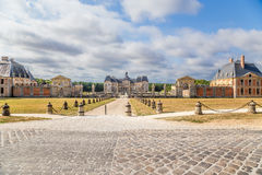 The estate of Vaux-le-Vicomte, France. Stock Image
