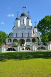 ESTATE VYAZEMY, RUSSIA - MAY 15, 2016: The Church of the Transfi Stock Image