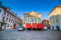 Estates Theater in Prague, Czech Republic Stock Photography