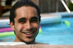 Estati al poolside fotografia stock libera da diritti