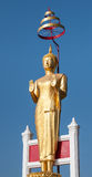 Estatua aislada de Buda Foto de archivo