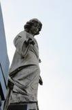 Estatua angelical fotos de archivo