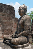 Estatua antigua de Buda Imágenes de archivo libres de regalías