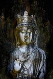 Estatua antigua de Buda fotografía de archivo libre de regalías
