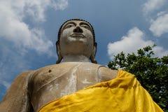 Estatua antigua de Buda en Ayutthaya Imagenes de archivo