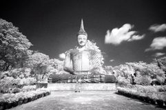 Estatua antigua de Buddha Fotos de archivo libres de regalías