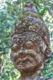 Estatua antigua de Lanna (templo antiguo) del estilo de Lanna Thai, Tailandia Imagenes de archivo