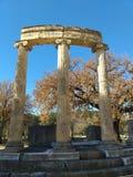 Estatua antigua de Olympia foto de archivo
