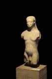 Estatua arqueológica Fotografía de archivo libre de regalías