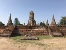 Estatua arruinada de Buddha Fotografía de archivo libre de regalías