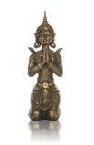 Estatua asiática de la diosa Fotografía de archivo libre de regalías