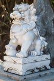 Estatua asiática del estilo del león, montañas de mármol, Vietnam Fotos de archivo libres de regalías
