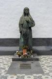Estatua, Azores, Portugal Fotos de archivo libres de regalías