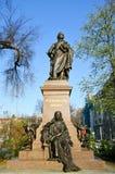 Estatua bartholdy de Mendelssohn fotografía de archivo