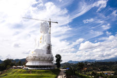 Estatua blanca de Guanyin Imagen de archivo