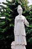 Estatua blanca de la leyenda popular china Fotos de archivo