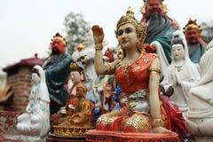 Estatua budista Fotos de archivo libres de regalías
