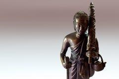 Estatua budista Imágenes de archivo libres de regalías