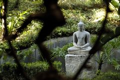 Estatua budista imagen de archivo libre de regalías