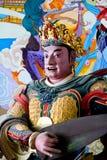 Estatua budista antigua en Qiongzhu Si en Kunming, China Fotografía de archivo libre de regalías