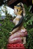 Estatua budista del alcohol Imagen de archivo libre de regalías