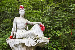 Estatua budista femenina Fotografía de archivo