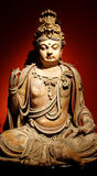 Estatua china de Buddha Fotografía de archivo