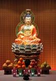 Estatua china de buddha Imágenes de archivo libres de regalías