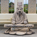Estatua china de la historia Foto de archivo