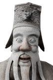 Estatua china de piedra Imagen de archivo libre de regalías