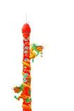 Estatua china del dragón Foto de archivo libre de regalías
