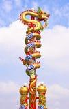 Estatua china del dragón Imagenes de archivo