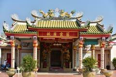 Estatua china del dragón de la cultura Arte chino en cultura del chino de Tailandia Foto de archivo libre de regalías