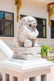 Estatua china del león fotografía de archivo libre de regalías