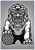 Estatua china del león Fotos de archivo