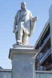 Estatua Civitavecchia, Italia de Giuseppe Garibaldi Imagen de archivo