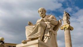Estatua clásica del filósofo de Platón